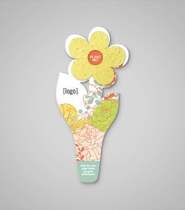 Seed paper flower bookmark every day d mightylinksfo