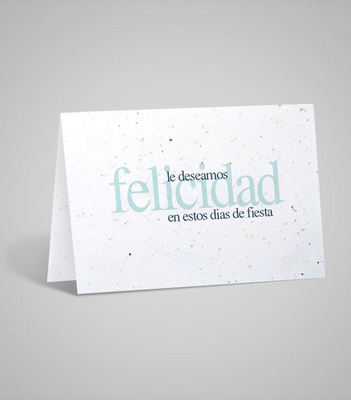 custom printed seed paper cards 5 x7