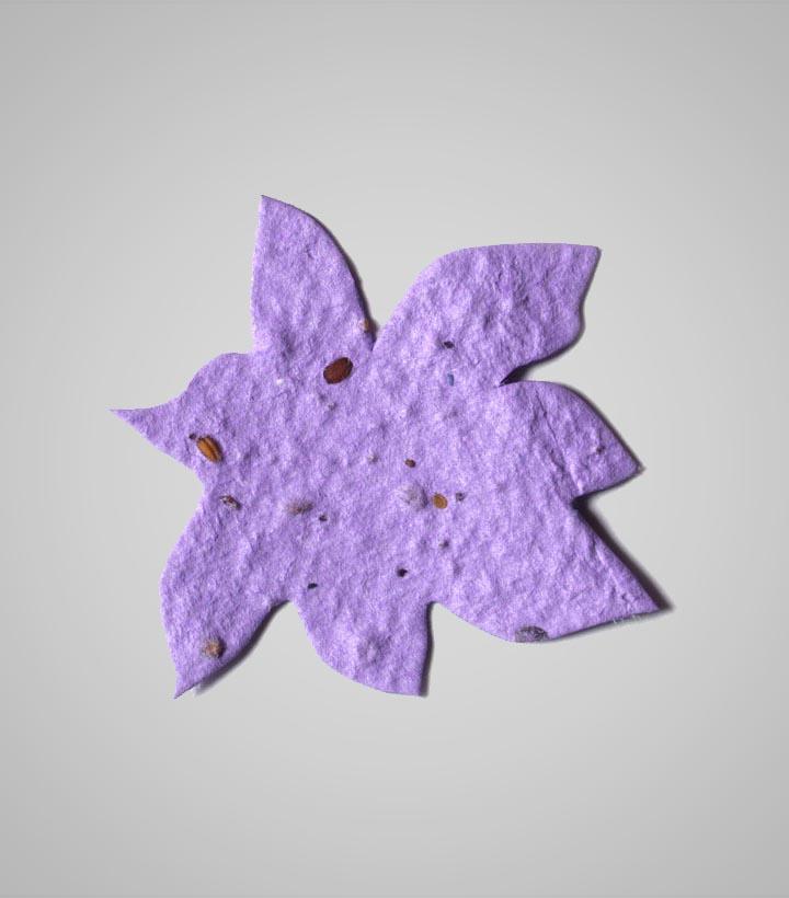 Seed paper flower shape 3 shape flower 3g mightylinksfo